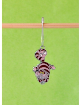 """Alice's Cat"" Stitch Marker"