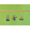 3 Minions stitch markers