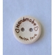 """Handmade with Love"" Wood Button"