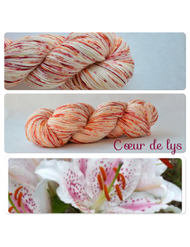 """Coeur de Lys"" Single Fingering Merino Yarn"