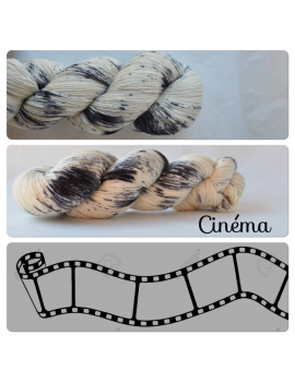 """Cinéma"" Single Fingering Merino Yarn"