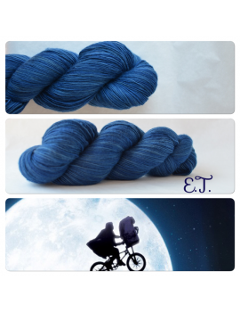 """E.T."" Single Fingering Merino Yarn"