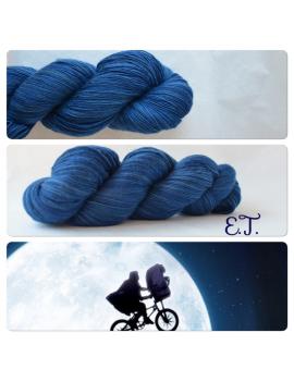 """E.T."" Single Fingering Merino Yarn"