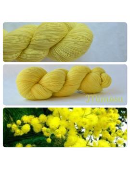 """Mimosa"" Single Fingering Merino Yarn"