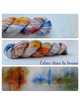 """Eclats dans la Brume"" Angora & Baby Alpaga"