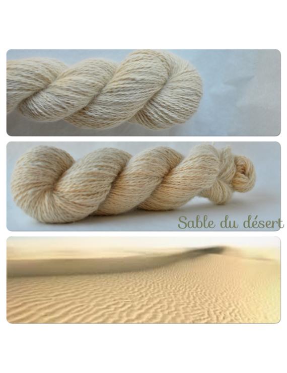 """Sable du Désert"" Angora & Baby Alpaga"