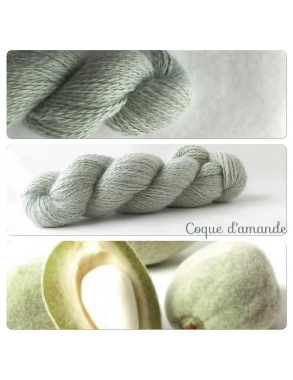 """""""Coque d'Amande"""" Angora & Baby Alpaga"""