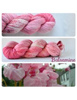 """Balsamine"" fingering Alpaca & Silk Yarn"