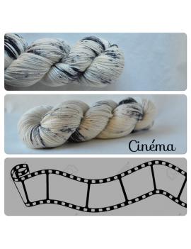 """Cinéma"" Fil fingering Alpaga & Soie"