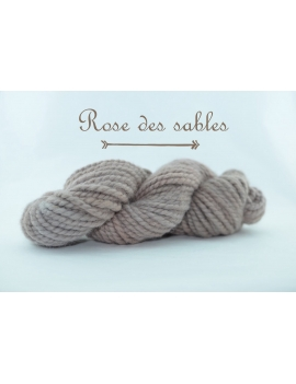 """Rose des Sables"" Super Bulky 100 % Baby Alpaca Yarn"