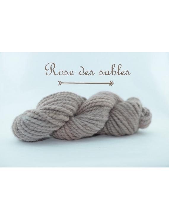 """Rose des Sables"" Super Bulky 100 % Baby Alpaca Yarn"