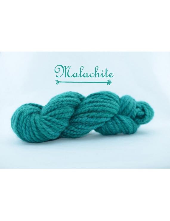 """Malachite"" Super Bulky 100 % Baby Alpaca Yarn"
