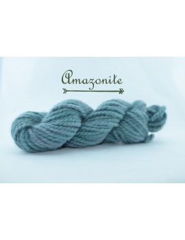 """Amazonite"" Super Bulky 100 % Baby Alpaca Yarn"
