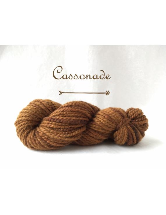 """Cassonade"" Super Bulky 100 % Baby Alpaca Yarn"