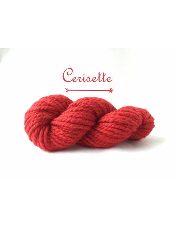 """""""Cerisette"""" Super Bulky 100 % Baby Alpaca Yarn"""