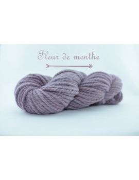 """Fleur de Menthe"" Super Bulky 100 % Baby Alpaca Yarn"