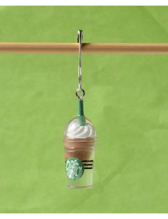 """Starbucks Choco"" Removable Stitch Marker"