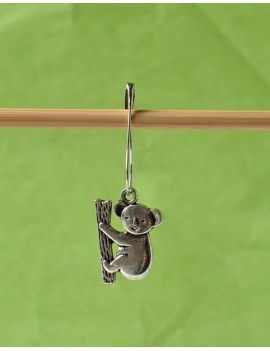 """Koala"" Removable Stitch Marker"