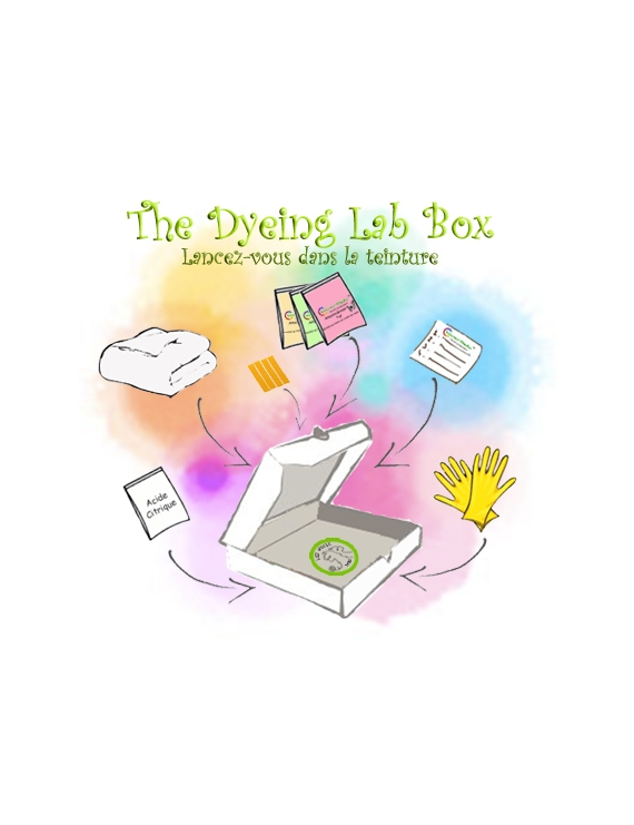 The Dyeing Lab Box blank