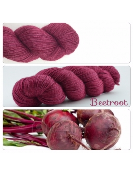 Beetroot fingering Alpaca & Silk Yarn