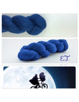 E.T fingering Alpaca & Silk Yarn