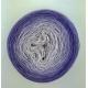 Wisteria Fil Single Fingering Merinos & silk (long gradient yarn cake)