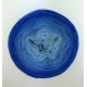 """Jellyfish"" Fil Single Fingering Mérinos (long gradient yarn cake)"