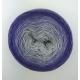"""Wisteria"" Fil Single Fingering Mérinos (long gradient yarn cake)"