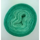 """Mint Sirup"" Fil Single Fingering Mérinos (long gradient yarn cake)"