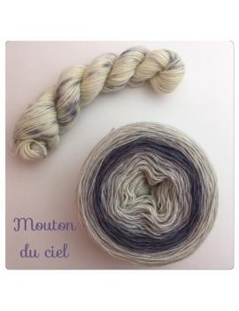"""Mouton du Ciel"" Double Gradient Sock Yarn Merino Alpaca & Nylon"