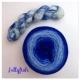 """Jellyfish"" Double Gradient Sock Yarn Merino Alpaca & Nylon"