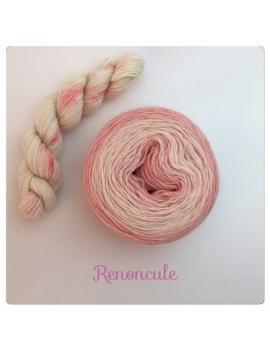 """Renoncule"" Double Gradient Sock Yarn Merino Alpaca & Nylon"