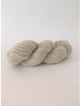 Natural Fingering Baby Alpaca Yarn