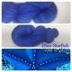 """Blue Starfish"" Fil Mérinos Alpaga & Nylon"