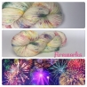 """Fireworks"" Fil Mérinos Alpaga & Nylon"