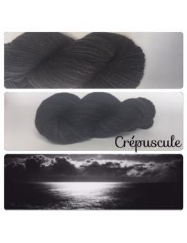 """Crepuscule"" Fil Mérinos Alpaga & Nylon"