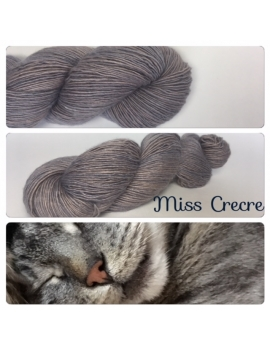 """Miss Crecre"" Single fingering Alpaca Seacell"