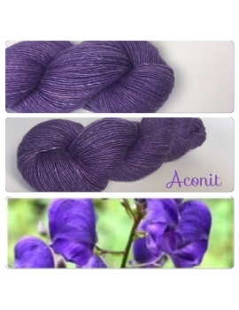 """Aconit"" Single fingering Alpaca Seacell"
