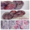 """""""Lepidolite"""" Single fingering Alpaga Rose Fiber"""