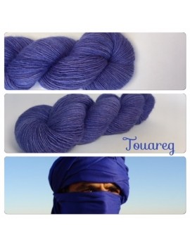 """Touareg"" Single fingering Alpaga Rose Fiber"
