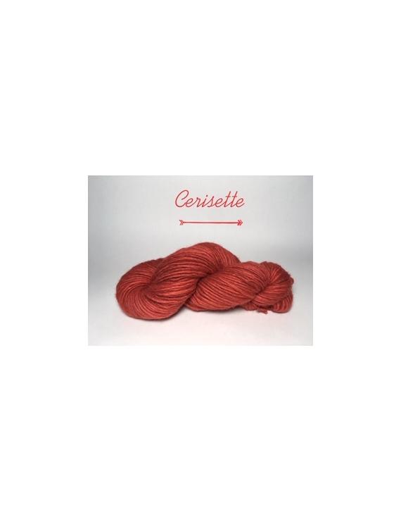 """""""Cerisette"""" Fil Bulky Lopi 50 % fine alpaga 50 % Mouton Ile de France"""