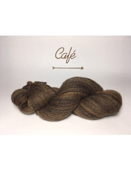"""Café"" Fil DK Baby Alpaga/Ile de France"