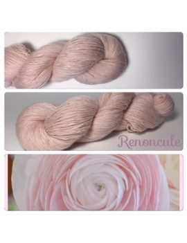 """Renoncule"" Single fingering Alpaca Tencel"