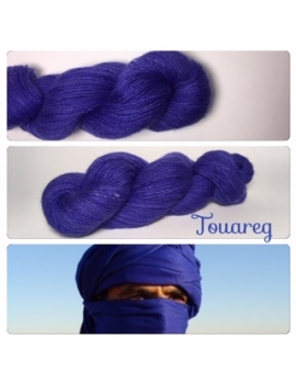 """Touareg"" Single fingering Alpaca Tencel"