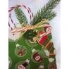 "Christmas Bag ""Vert"" Teinture"