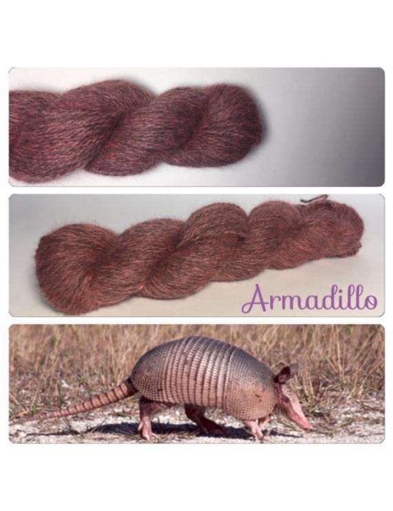 """Armadillo"" Angora & Baby Alpaga Noir"