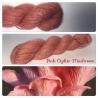 """Pink Oyster Mushroom"" Angora & Baby Alpaga Roux Moyen"