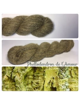 """Phellodendron de l'Amour "" Angora & Baby Alpaga Noir"