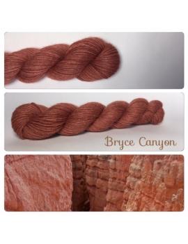 """Bryce Canyon"" Alpaga Merinos Ramie"