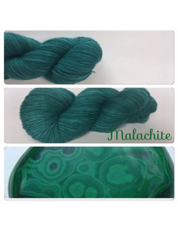 """Malachite"" Fil Single Fingering Mérinos"